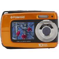 Polaroid  14.1MP Dual Screen Waterproof Camera-Orange