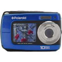 Polaroid  14.1MP Dual Screen Waterproof Camera-Blue