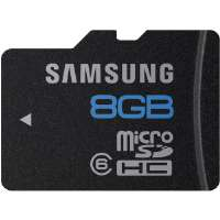 Samsung  8GB microSDHC Class 6 Memory Card