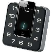 iLive  App-Enhanced Dual Alarm Clock FM Radio with iPod�/iPhone��Dock
