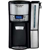 Hamilton Beach  BrewStation� 12-Cup Stainless Steel Trim Dispensing Coffeemaker with Removable Reservoir