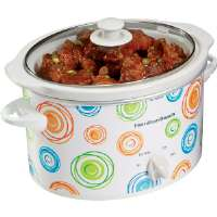 Hamilton Beach  3-Quart Slow Cooker with Swirl Pattern Design