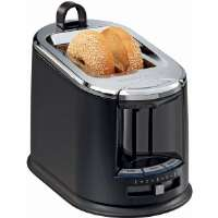 Hamilton Beach  Black SmartToast Extra-Wide Slot 2-Slice Toaster with On-Board Tongs
