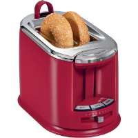 Hamilton Beach  Red SmartToast Extra-Wide Slot 2-Slice Toaster with On-Board Tongs