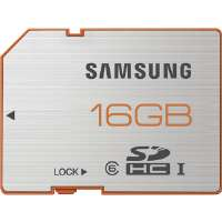 Samsung  16GB Plus Series SDHC Class 6 Ultra High-Speed Card
