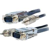 Comprehensive  75' Plenum HD15/Mini Stereo Cable