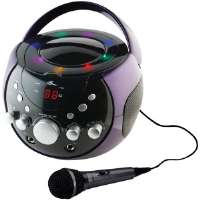 GPX  Portable Karaoke Party Machine� with Automatic Voice Control