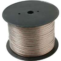 Steren 255-319CL 1000' 18-Gauge Economy Speaker Wire - 2 Conductor