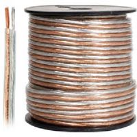 Steren 255-514 100' 14-Gauge Clear Jacket Speaker Wire