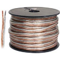 Steren 255-516 100' 16-Gauge Clear Jacket Speaker Wire