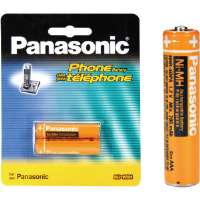 Panasonic HHR-4DPA/2B Cordless Phone Replacement Batteries - 2-Pack
