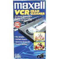 MAXELL DRY VHS CLEANER