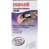 Maxell VP-CA Mechanical VHS-C Adapter