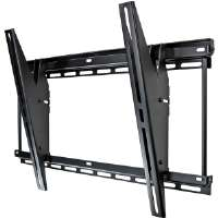 "OmniMount 2N1-LB Black 37"" To 63"" Universal Flat Panel Mount With Tilt"