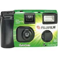 Fujifilm QUICKSNAP-FLASH400 One-Time-Use 35mm Camera with Flash