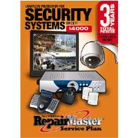 Repair Master A-RMS34000 3-Year DOP Warranty for Security Systems - Under $4,000