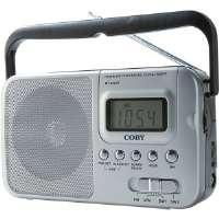 Coby CX-39 World Band AM/FM/Shortwave Radio with Digital Display