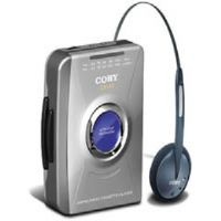 Coby CX-49 Stereo Cassette Player with AM/FM Tuner