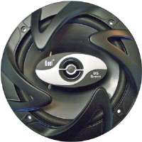 "DUAL DS652 COAXIAL CAR SPEAKERS (120 WATT, 2-WAY 6.5"")"