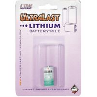Ultralast LHAA 1/2 AA Primary Lithium Battery Retail Pack - Single