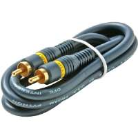 Steren 254-140BL 100' Python� Home Theater RCA-RCA Video Cables