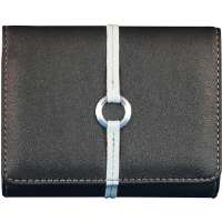 Norazza NY AC12152 Black Slim Designer Camera Clutch