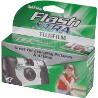 Fujifilm QSFLASHXTRA800 One-Time-Use 35mm 800SP Camera with Flash