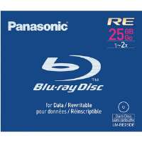 Panasonic LM-BE25DE Blu-ray� Rewritable Disc - 25GB, Single