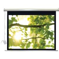 Vutec 01-EVIR045080A 92&quot; Lectric IR L-Series 16:9 Motorized Projection Screen