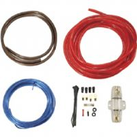 POWER ACOUSTIK AKIT-8 AMP WIRING KIT (8 GAUGE, 40A MAXI FUSE and HOLDER)