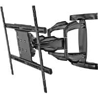 The Peerless SA771PU Smart Mount Universal Articulating Dual-Arm for 37-71 In. Displays reflects remarkable form and function from any angle. The flat panel screen extends up to 27.55-inch from the wa