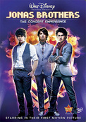 JONAS BROTHERS:CONCERT EXPERIENCE - DVD Movie