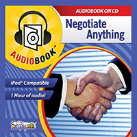 NEGOTIATE ANYTHING WITH ANYONE AUDIOBOOK
