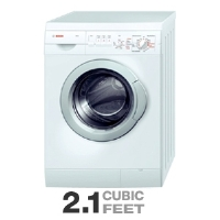 Bosch Axxis Stackable Automatic Washing Machine - 2.1 Drum Capacity, 15 Programs, 4 Options, Temp Boost Cycle,  White