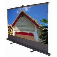 "ELITE SCREENS F100NWH 16:9 EZCINEMA SERIES FLOOR-STANDING PULL-UP PROJECTOR SCREEN (100"" 49"" X 87.2"")"