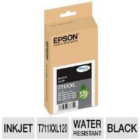 EPSON AMERICA INC Ink Cartridge, 3400 Page Yield, Black