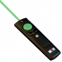 Hiro H50181 WiFi Presenter Laser Pointer - 4 in 1, 2.4GHz, Green Laser, Wireless Mouse, Multimedia Control, Black