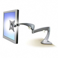 "Ergotron 45-174-300 Neo-Flex Desk Monitor Arm for 15-22"" LCDs - Silver"