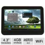 "Trio Stealth Lite 4.3"" Android Player - 1.2GHz Processor, Wi-Fi Enabled, Built-in Speaker  - TRIO STEALTH LITE 4."