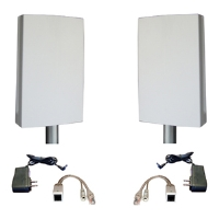 Microcom EZ-BR2 802.11b/g Bridge Kit - 2x 14dBi Antennas, Plug & Play, 2x Bracket Kits, 2x POE Cables, 2x Power Adapters
