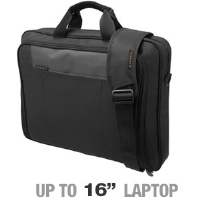 Everki EKB407NCH Advance Laptop Briefcase - Fits Notebook PCs up to 16""