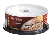 Verbatim CD-RW Media 25-PK