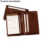 Royce Leather Deluxe Note Jotter Organizer - 725-COCO-5