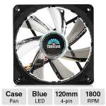 Enermax T.B.VEGAS SINGLE Fan - 120mm, Blue LED, 500 ~ 1800 RPM - UCTVS12P-BL
