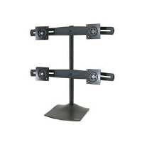 "Ergotron 33-324-200 DS100 Quad Monitor Desk Stand up to 24"" LCDs - Black"