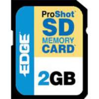 EDGE Tech 2GB ProShot Secure Digital Card -130x (PE201265)