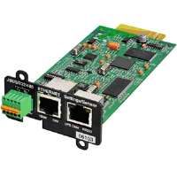 Eaton Corporation Network and MODBUS Card-MS - Remote management adapter - 10Mb LAN, 100Mb LAN, RS-232, RS-485, (MODBUS-MS)