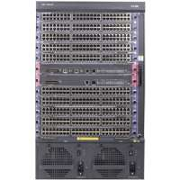 HP 7510 Switch Chassis - Supports Maximum 84 10GbE Ports, 714 million pps, 1152 Gb/s, IEEE 802.3, IRF, SNMP Manager - JD238B