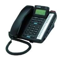 Cortelco Colleague 2220 Standard Phone - Black