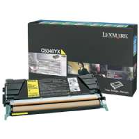Lexmark Return Program High Capacity Yellow Toner Cartridge (C5340YX)